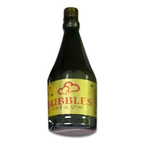 Champagne Bottle Wedding Bubbles