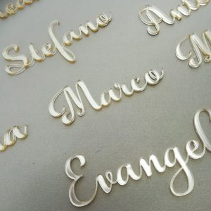 Acrylic Guest Names