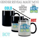 Boy Gender Reveal Mug