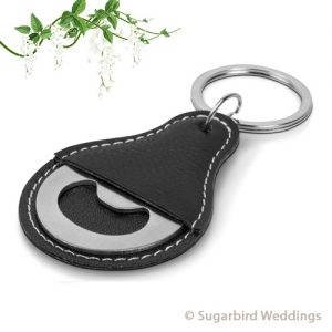 Brewmaster Bottle Opener Keyring