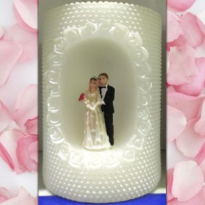 15cm Bride and Groom Candle