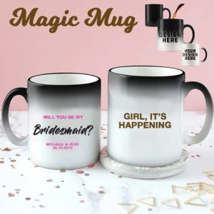 Bridesmaid Colour Changing Mug