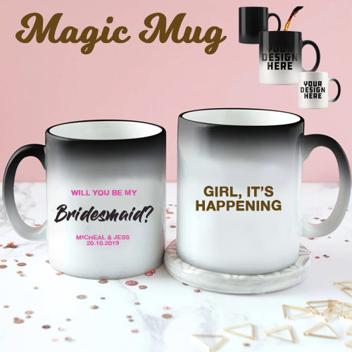 Bridesmaid Colour Changing Mug