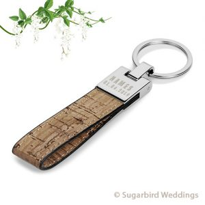 Canyon Cork Keyring