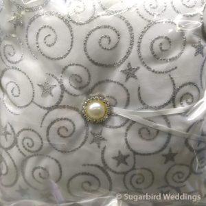 Damask Ring Pillow