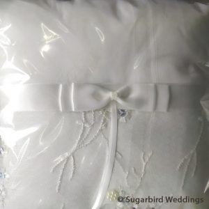 Delicate Detail Ring Pillow