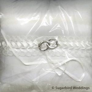 Double Romance Ring Pillow
