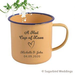 Bulk Personalised Enamel Mug
