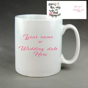 Engaged Coffee Mug