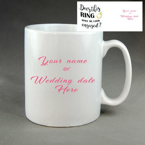 Engaged Coffee Mug
