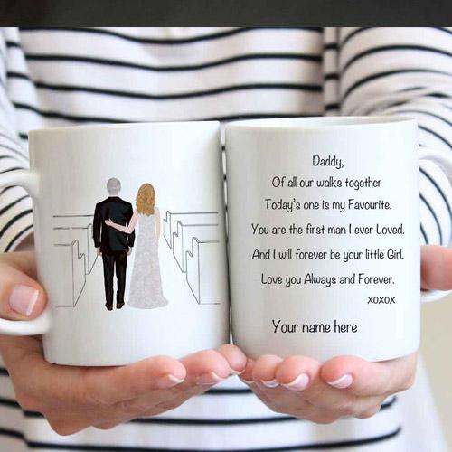 Father of the Bride Coffee Mug