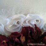 Feather Flower Girl Confetti Basket