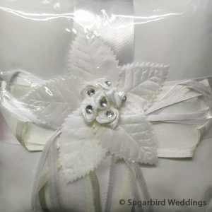 Flower Design Ring Pillow