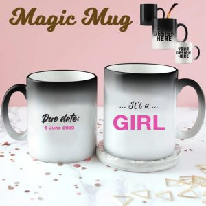 Girl Gender Reveal Mug