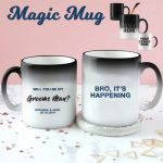 Groomsman Colour Changing Mug