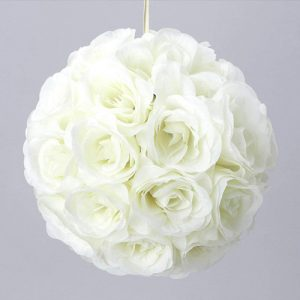 Hanging Rose Kissing Ball