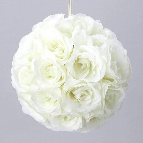 Hanging Rose Kissing Ball