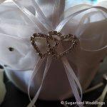 Heart Flower Girl Confetti Basket
