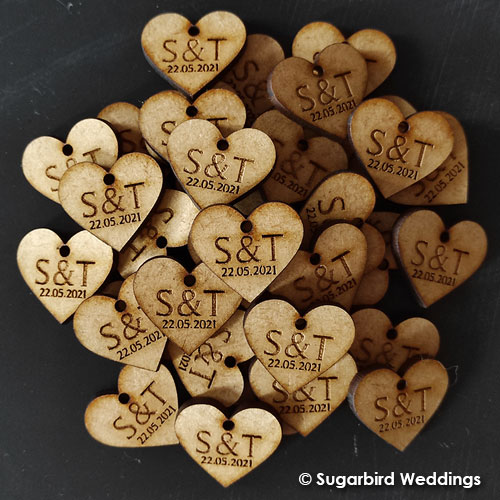 Custom Wooden Gift Tag