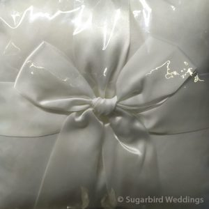 Classic Ribbon Ring Pillow