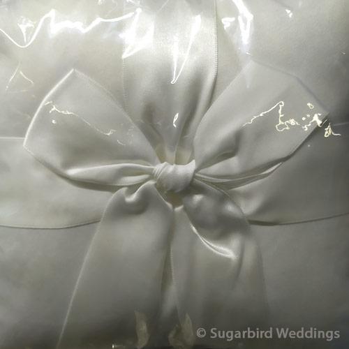Classic Ribbon Ring Pillow