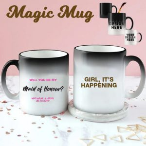 Maid of Honour Colour Changing Mug