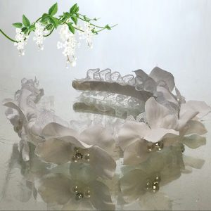 Pearl Flower Girl Headband