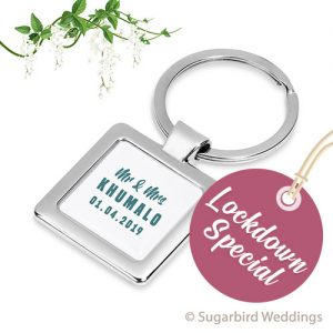 Quad Metal Keyring