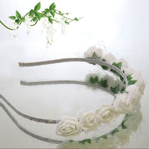 Rose Flower Girl Headband