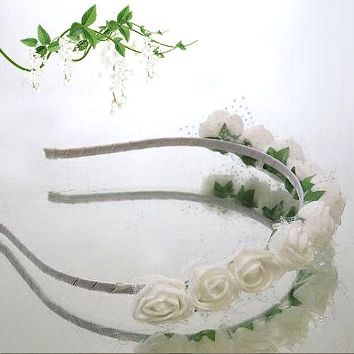 Rose Flower Girl Headband