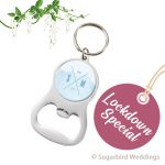 Dome Bottle Opener Keyring