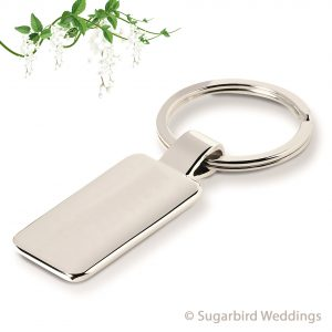Stylish Metal Keyring