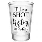 Tied the Knot Shot Glasses