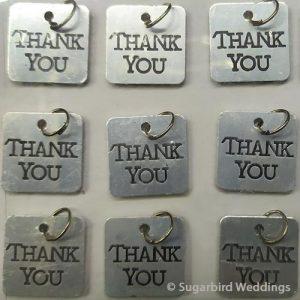 Thank You Charm Tag