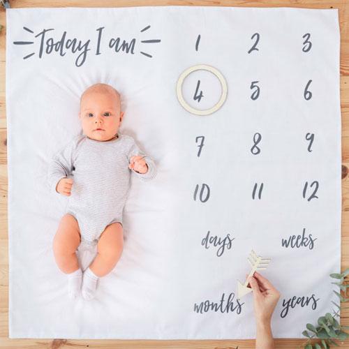 Baby Milestone Blanket Mat