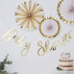 Baby Shower Backdrop Banner