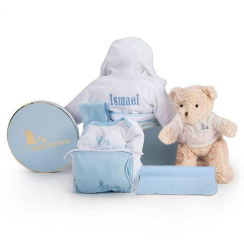 Bathrobe Baby Gift Box
