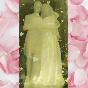 30cm Bridal Couple Candle