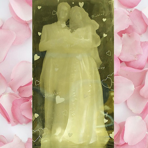 30cm Bridal Couple Candle