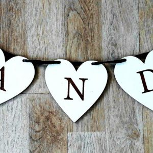 Heart Candy Table Bunting