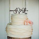 Custom lasercut cake topper