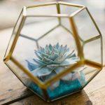 Round Geometric Vase