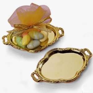 Mini Gold Platter Tray