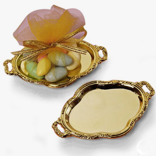 Mini Gold Platter Tray