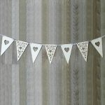 Intricate Heart Bunting