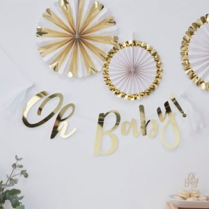 Oh Baby Backdrop Banner