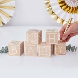 Oh Baby Guestbook Blocks