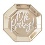 Oh Baby Plates