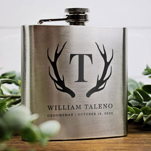 Personalised Gift Flask