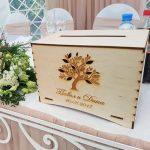 Custom Wooden Envelop Box